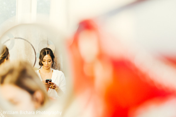Getting Ready in Fort Worth, TX Indian Wedding by William Bichara Photography