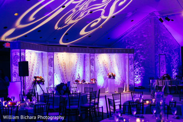 Lighting & Decor in Fort Worth, TX Indian Wedding by William Bichara Photography