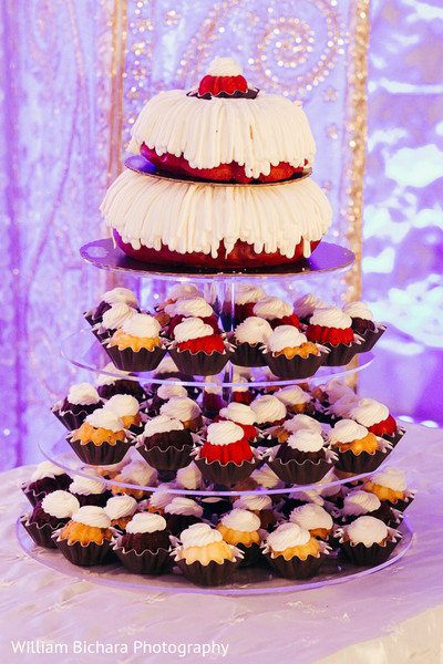 Cakes & Treats in Fort Worth, TX Indian Wedding by William Bichara Photography