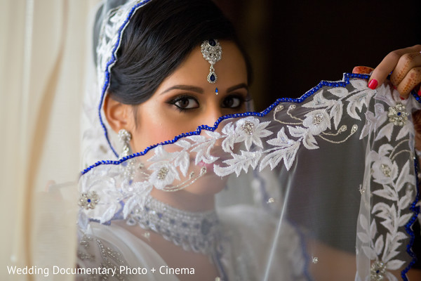 Indian bridal makeup in Costa Mesa, CA Indian Wedding by Wedding Documentary