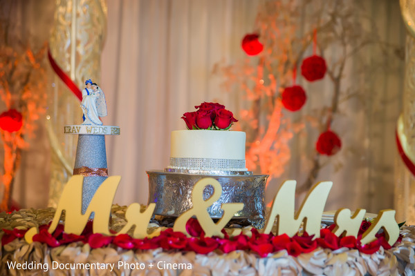 Wedding cake in Costa Mesa, CA Indian Wedding by Wedding Documentary