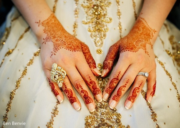 Mehndi in Ontario, Canada Pakistani Fusion Wedding by Ben Benvie
