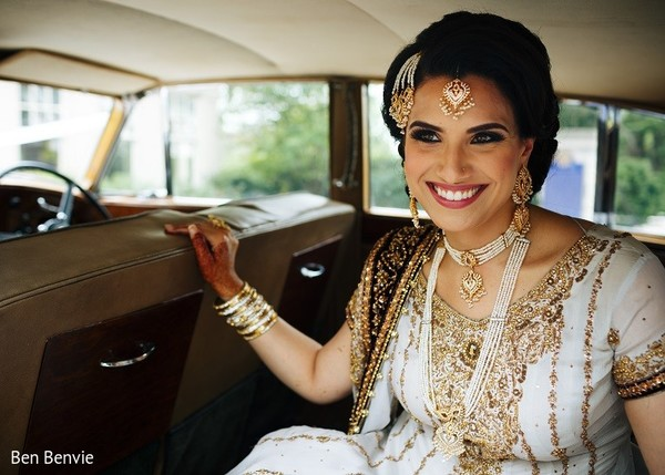 Bridal Portrait in Ontario, Canada Pakistani Fusion Wedding by Ben Benvie