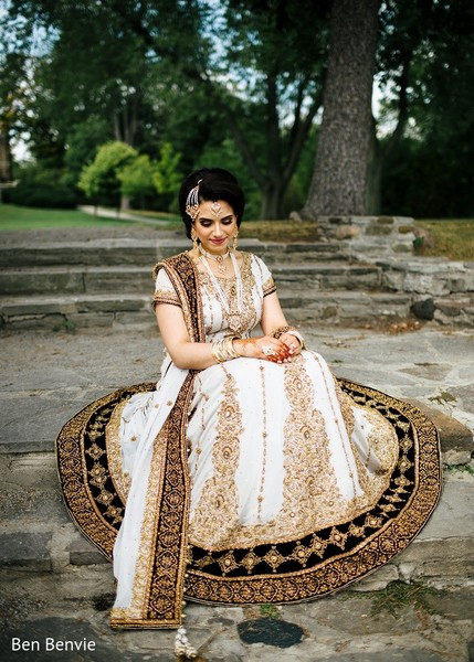 Bridal Fashion in Ontario, Canada Pakistani Fusion Wedding by Ben Benvie