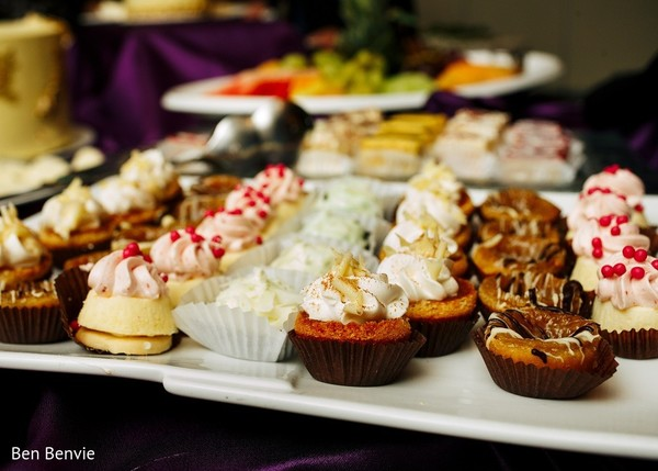 Desserts in Ontario, Canada Pakistani Fusion Wedding by Ben Benvie