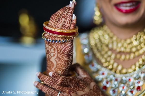 Getting Ready in Orlando, FL Indian Wedding by Amita S. Photography