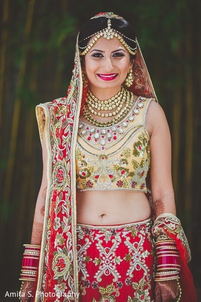 Bridal Fashion in Orlando, FL Indian Wedding by Amita S. Photography