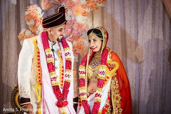 Ceremony in Orlando, FL Indian Wedding by Amita S. Photography