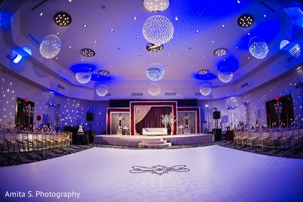 Venue & Lighting in Orlando, FL Indian Wedding by Amita S. Photography