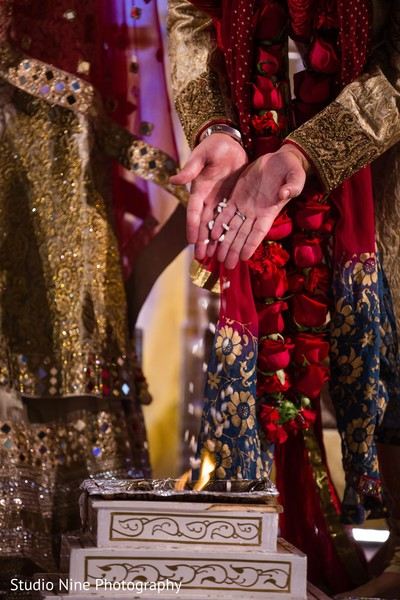 Fusion wedding ceremony in Philadelphia, PA Indian Fusion Wedding by Studio Nine Photography
