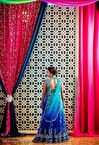 Pre-Wedding Decor in Galveston, TX Indian Wedding by SB Image Studios