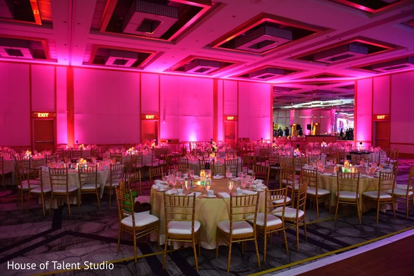Reception venue in Princeton, NJ Indian Wedding by House of Talent Studio