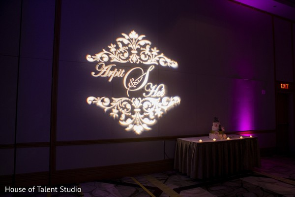 Lighting in Princeton, NJ Indian Wedding by House of Talent Studio