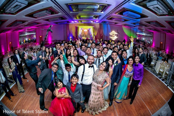 Reception in Princeton, NJ Indian Wedding by House of Talent Studio