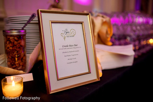 Sangeet Decor in New Orleans, LA Indian Wedding by Followell Fotography