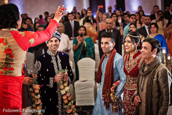 Ceremony in New Orleans, LA Indian Wedding by Followell Fotography
