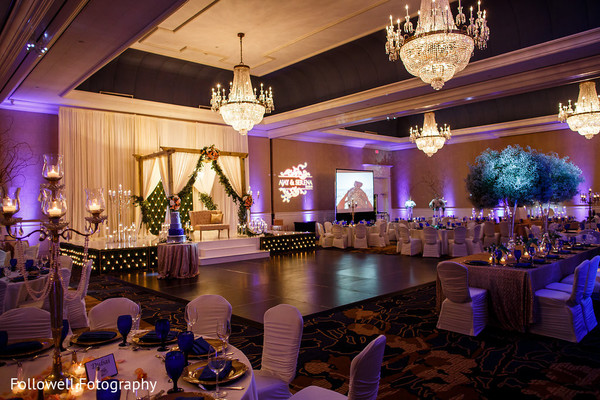 Venue in New Orleans, LA Indian Wedding by Followell Fotography