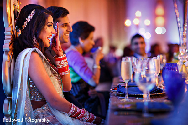 Reception in New Orleans, LA Indian Wedding by Followell Fotography
