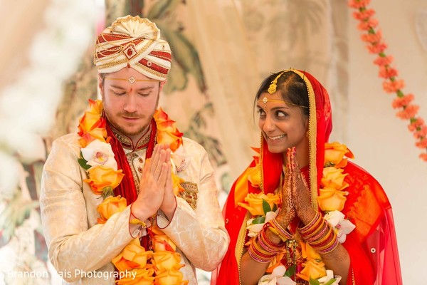 South Indian wedding ceremony in Detroit, MI Indian Fusion Wedding by Brandon Rais Photography