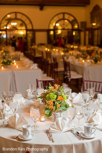 Reception in Detroit, MI Indian Fusion Wedding by Brandon Rais Photography