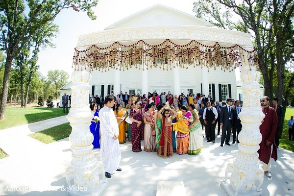 Baraat in Dallas, TX Indian Wedding by Aaroneye Photo & Video