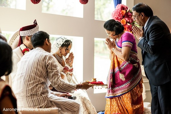 Ceremony in Dallas, TX Indian Wedding by Aaroneye Photo & Video