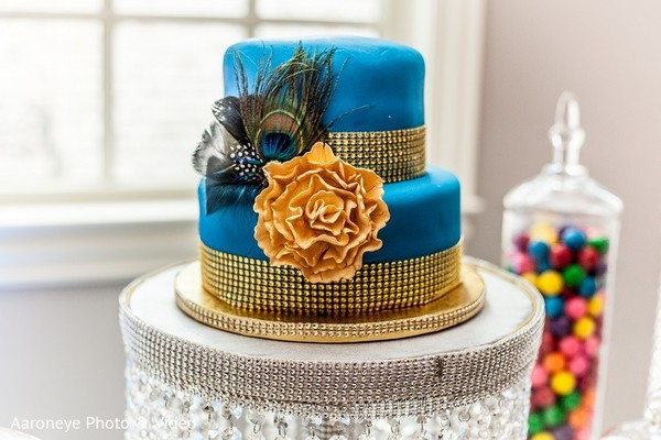 Cake in Dallas, TX Indian Wedding by Aaroneye Photo & Video