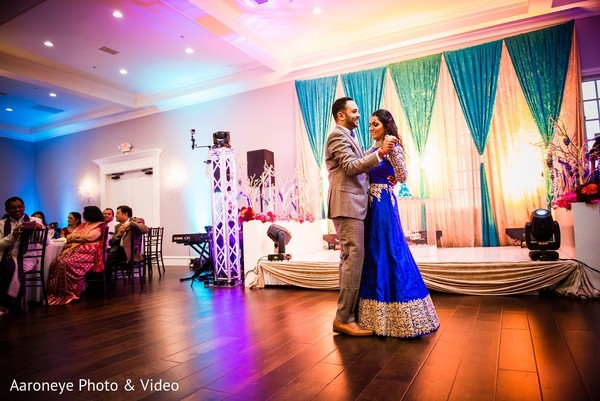 Reception in Dallas, TX Indian Wedding by Aaroneye Photo & Video