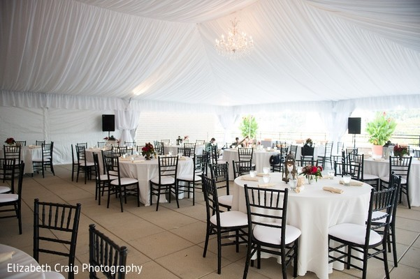 Tented Venue in Pittsburgh, PA Indian Fusion Wedding by Elizabeth Craig Photography