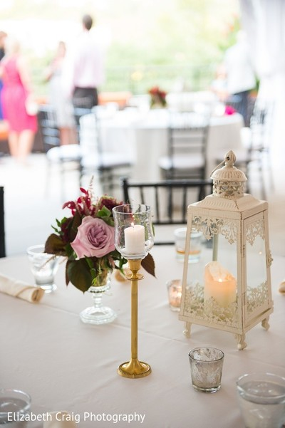 Luncheon Decor in Pittsburgh, PA Indian Fusion Wedding by Elizabeth Craig Photography