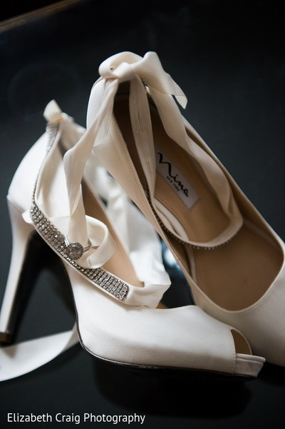 Shoes in Pittsburgh, PA Indian Fusion Wedding by Elizabeth Craig Photography