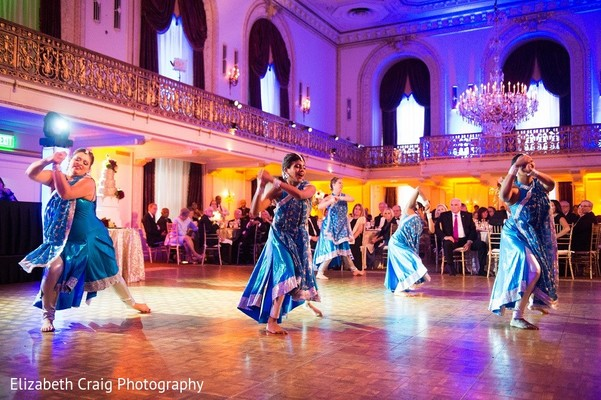 Reception in Pittsburgh, PA Indian Fusion Wedding by Elizabeth Craig Photography