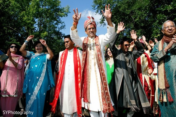 Baraat in Marlton, NJ  Indian Wedding by SYPhotography