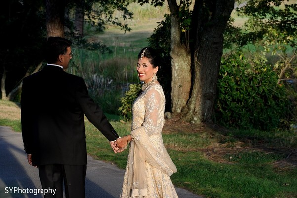 Reception Portrait in Marlton, NJ  Indian Wedding by SYPhotography
