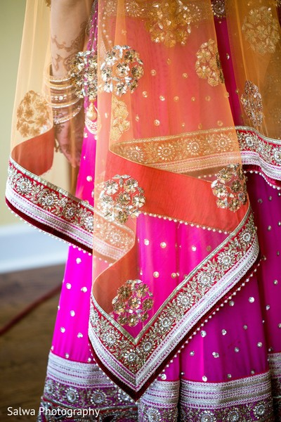 Dupatta in Long Island, NY Indian Fusion Wedding by Salwa Photography