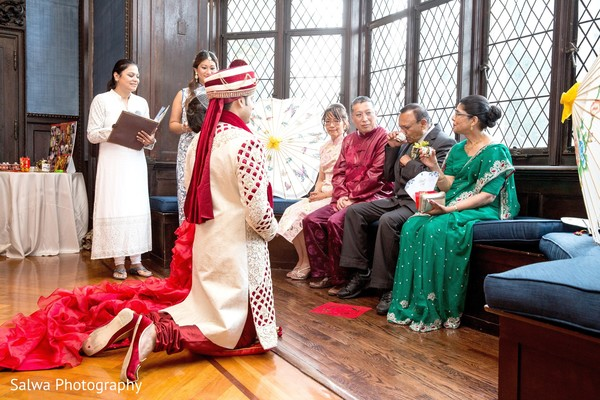 Tea ceremony in Long Island, NY Indian Fusion Wedding by Salwa Photography
