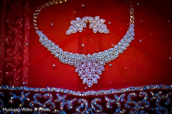Bridal Jewelry in Boston, MA Hindu-Sikh Wedding by Muskaan Video & Photo