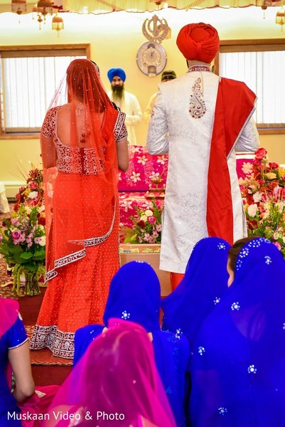 Ceremony in Boston, MA Hindu-Sikh Wedding by Muskaan Video & Photo