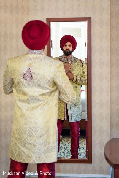 groom getting ready,indian groom getting ready