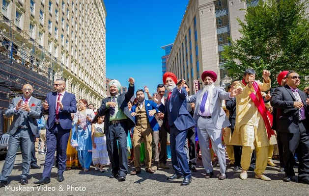 Baraat in Boston, MA Hindu-Sikh Wedding by Muskaan Video & Photo