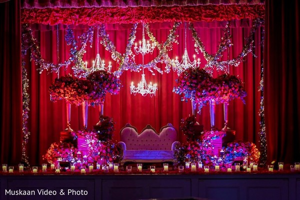 Floral & Decor in Boston, MA Hindu-Sikh Wedding by Muskaan Video & Photo