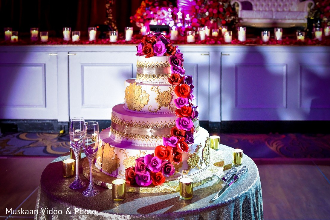 wedding cake in boston ma hindu sikh wedding by muskaan video photo