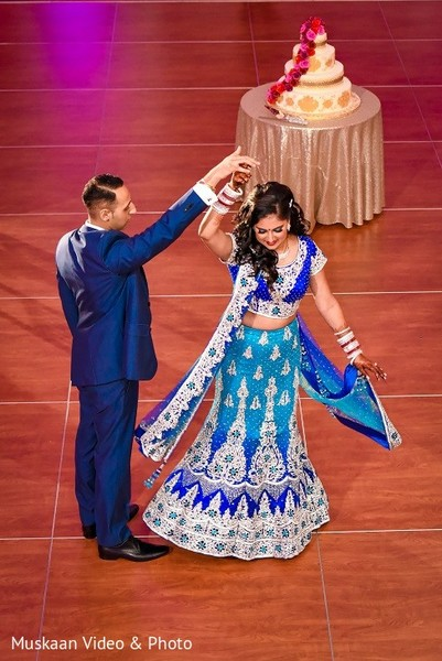 Reception in Boston, MA Hindu-Sikh Wedding by Muskaan Video & Photo