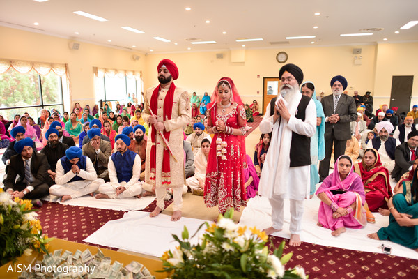 Sikh ceremony in Rockville, MD Sikh Wedding by AISM Photography