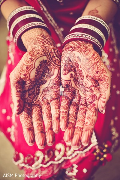 Mehndi in Rockville, MD Sikh Wedding by AISM Photography