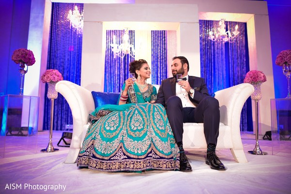 Reception portraits in Rockville, MD Sikh Wedding by AISM Photography