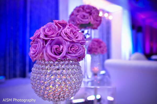 Reception decor in Rockville, MD Sikh Wedding by AISM Photography