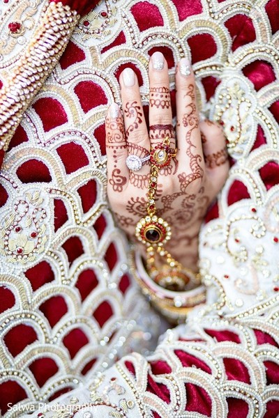 Mehndi in Long Island, NY Indian Fusion Wedding by Salwa Photography