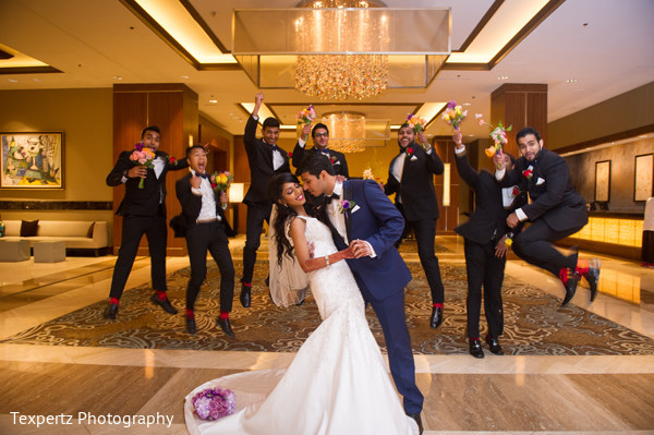 Wedding portraits in Dallas, TX Indian Fusion Wedding by Texpertz Photography