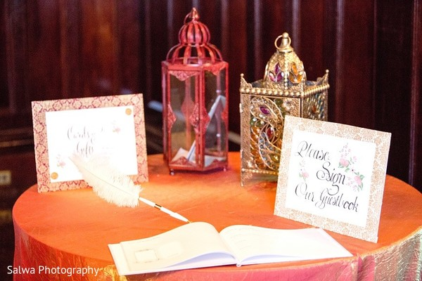 Reception Details in Long Island, NY Indian Fusion Wedding by Salwa Photography